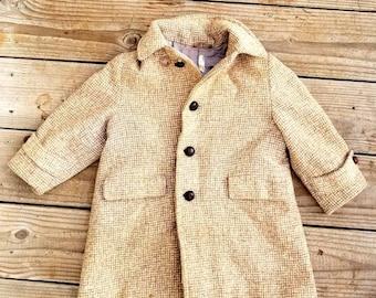 Vintage Wool Thorpes Little Guy Winter Coat