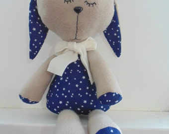handmade stuffed puppy