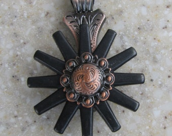 Copper Berry w/ Rowel Custom Pendant