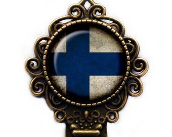 Republic of Finland Finnish Flag Bookmark