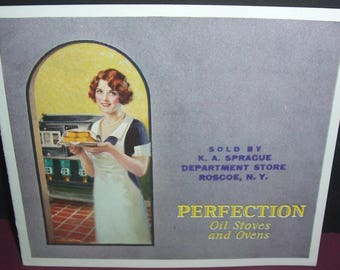 1920s Perfection stoves & ovens brochure
