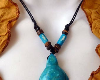 Necklace Native American turtle howlite Howlite Sea Turtle Native American Necklace