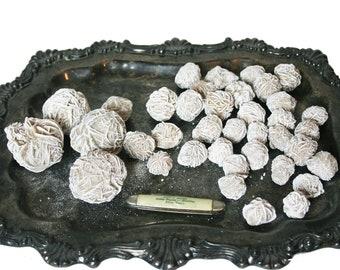 One & 1/2 lb Desert Rose Selenite Stones Crystal Healing Love Stone