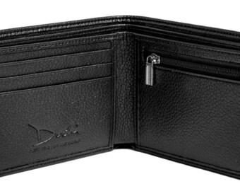 Vegan Wallet w/ Coin Pocket