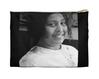 Personalize Your Accessory Pouch With Your Photo And Name