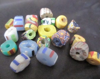 African Trade Bead Smaller Vintage Lot J191