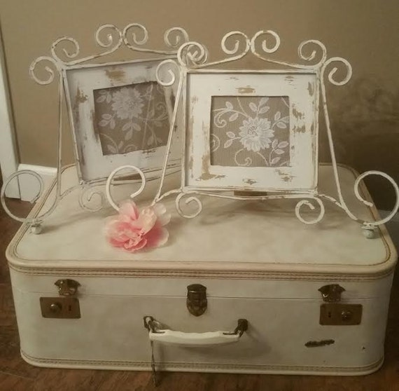 Wrought Iron Picture Frames - Shabby Chic PICTURE FRAMEs - WEDDING ...