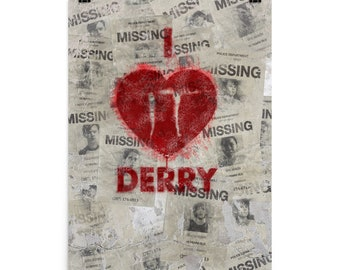I Love Derry Poster