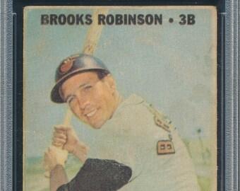 1967 Venezuela Topps Brooks Robinson #211 PSA 1