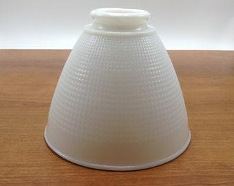 Milk glass shade etsy 6 cornning milk glass lamp shade no 820090 floor lamp diffusertorchiere replacement globe aloadofball Gallery
