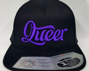 Queer Snapback Cap (Various Colors)