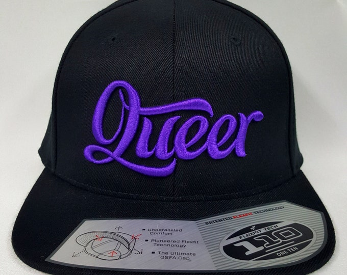 Featured listing image: Queer Snapback Cap (Various Colors)