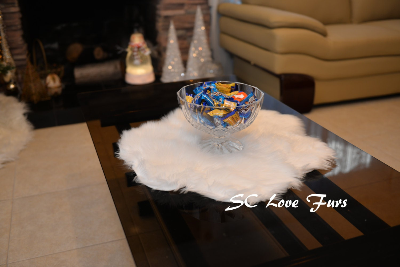 Christmas Centerpiece Table Runner White Special Designer