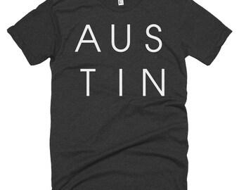 Austin Texas Letters T-shirt
