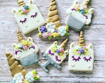 unicorn cookies sugar