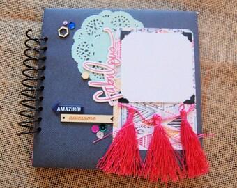 Mini Scrapbook- Imaginarium- Brag Book 8x8