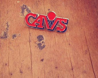 Vintage Cleveland Cavaliers Enamel Pin