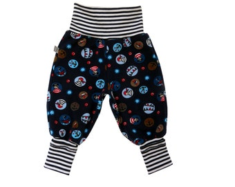 Mitwachsen Pant pants pirate pirats baby trousers pants leggings baby