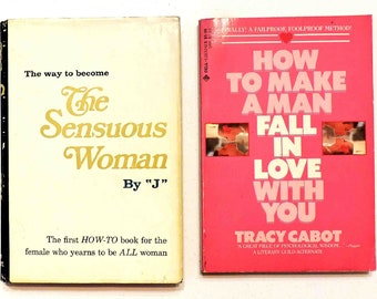 The Sensuous Woman and How To Make A Man Fall In Love With You Vintage Books