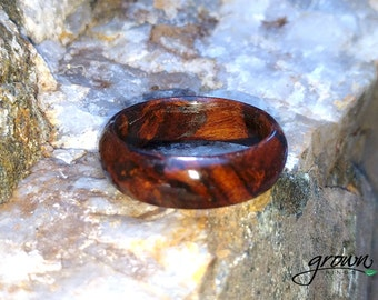 Desert Ironwood Ring - Wood ring, wood ring women, wooden ring, wood ring men, wood engagement ring, wood rings for men,  wood wedding ring,