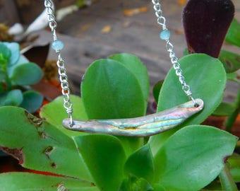 Abalone Bib Necklace