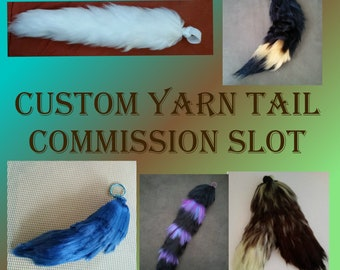 Emergency Custom Yarn Tail Commission Slot {DEPOSIT PAYMENT}