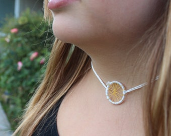 Star Burst/Dream catcher style custom Choker Necklace|party favor|young girls accessory| teen|woman|gifts for her