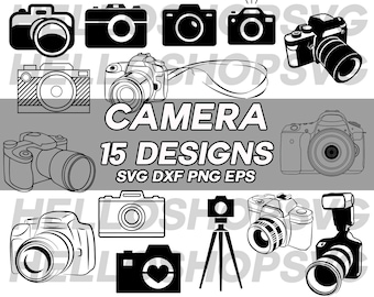 Camera Svg Digital Photography Tripod Photo Taking