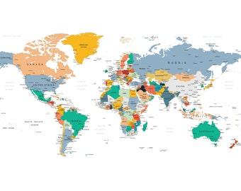 Adventure Nursery, Push Pin Map, Push Pin Travel Map, World Map with Push Pins, Travel Board,  Travel Map, World Travel Map