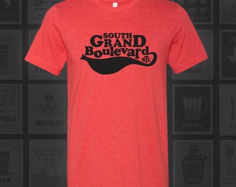 South Grand Blvd - STL City Shirt from Benton Park Prints
