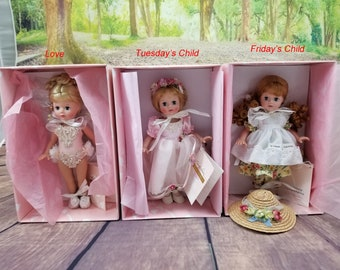 """Susan Wakeen dolls 8"""" with box and COA"""