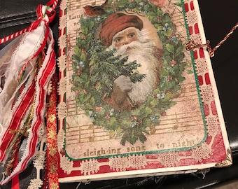 Golden Christmas Journal
