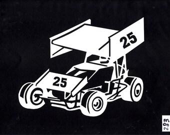 Go Carts Racing Sticker/Decal