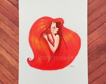 Mermaid Heart Series 1 Limited Prints