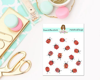 Period Tracker Lady Bugs