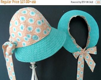 SPRING SALE Sun hat, Mother/Daughter hats, Toddler sun hat, Baby sun hat , Handmade