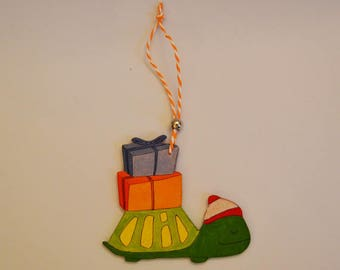 Christmas-tree decoration for turtle