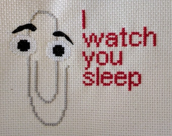 Clippy Cross Stitch