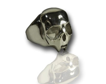 Bailey skull - silver - Sterling