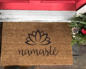 Front Doormat (namaste)