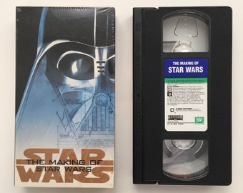 """vintage VHS """"The Making of Star Wars"""" television special 1995"""