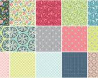 Feathers & Flourishes 10 Inch Squares Layer Cake, 42 Pieces, Amanda Murphy, Contempo Studio, Precut Fabric, Quilt Fabric, Cotton Fabric