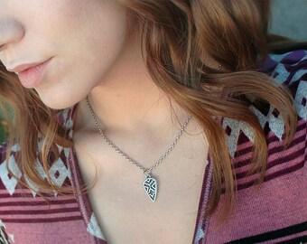 Aztec Arrowhead Necklace - Bohemian Jewelry