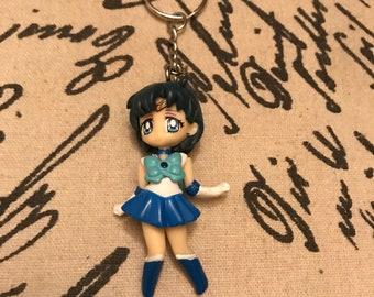 Sailor Mercury from Sailor Moon Keychain