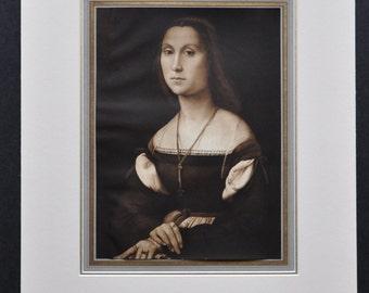 La Muta par Raphael (artiste de la Renaissance italienne)