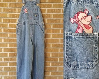 90s Tigger overalls, Winnie The Pooh -medium-