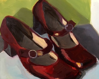 Red Shoes #1,6x6