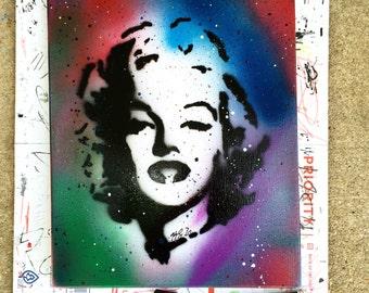 Marilyn Monroe Painting Art Canvas