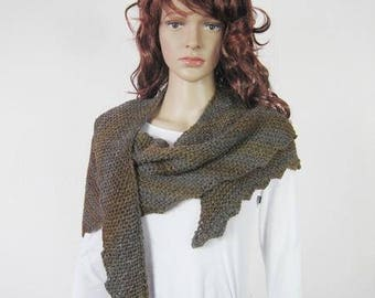 Handmade knitted  scarf