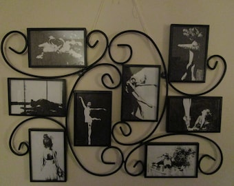 Dancer Pen and Ink Drawings in Wire Art Frame
